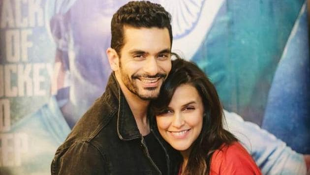 Actors Angad Bedi and Neha Dhupia tied the knot in May this year.