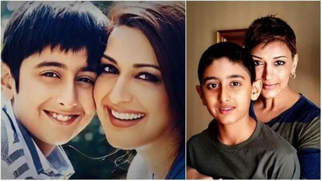 Sonali Bendre's son has kind words for the supports of him and his mom.(Instagram)