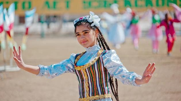 Special prayers and religious rituals take place on Nowruz and the Parsis wear new clothes and make rangolis outside their homes during the celebrations.(Shutterstock)