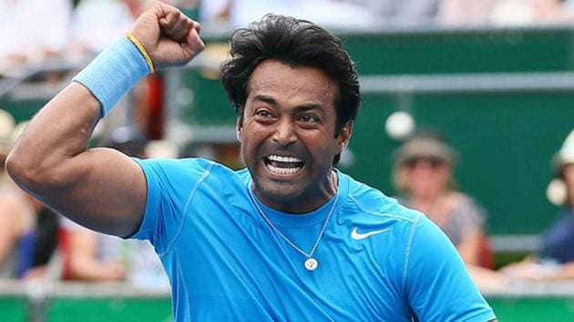 Leander Paes has 18 Grand Slams to his names.(Getty Images)