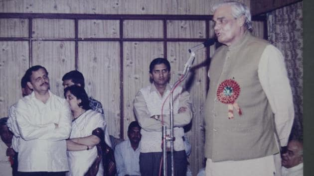 Not all of Vajpayee's economic achievements were state-led. It was his government which unleashed animal spirits in the telecom sector.(HT Archives/Ravindra Joshi)