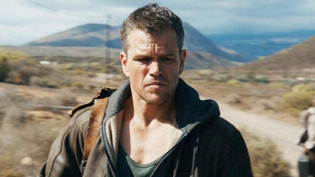 Matt Damon as Jason Bourne. The star has played the spy in four films.