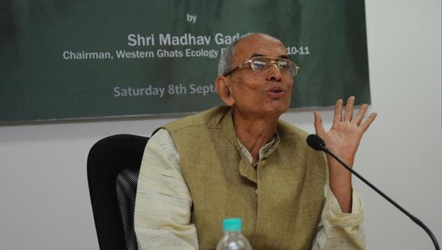 Ecologist and founder of the Centre for Ecological Sciences Madhav Gadgil.(HT File Photo)