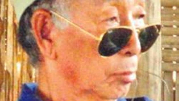 NSCN (K) leader SS Khaplang passed away last year.(HT Photo)
