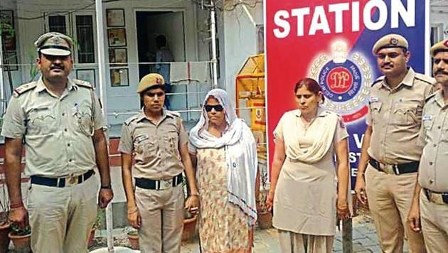 Basiran, who is considered by the police to be the ringleader of a crime syndicate, had control over three government borewells in Sangam Vihar.(Sourced)