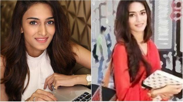 Erica Fernandez's first look as Prerna Sharma in Kasauti Zindagi Kay 2 is going viral.(Instagram)