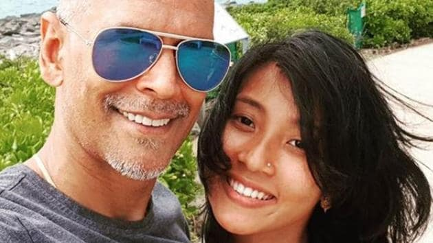 Milind Soman and Ankita Konwar tied the knot in April 2018.(Instagram)