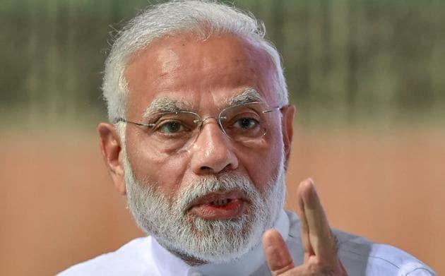 File photo of Prime Minister Narendra Modi.(PTI photo)