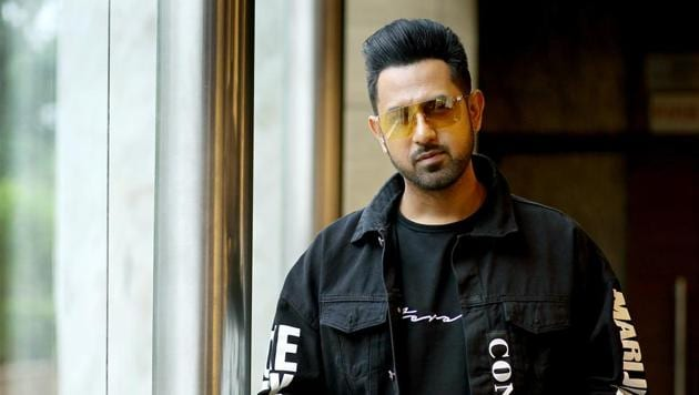 Singer-actor Gippy Grewal was threatened by a mobster named Dilpreet in June.(Photo: Amal KS/HT)