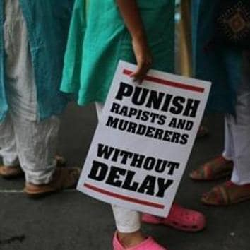 A 12-year-old girl was allegedly kidnapped and gangraped on Friday by four labourers in Uttarkashi, leading to unrest in the area and prompting authorities to shut down internet services in the area.(AP/Picture for representation)