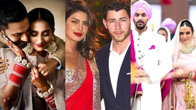 Here is your complete guide to all the celebrities who have gotten married in 2018 or are set to marry, from Sonam-Anand to Priyanka-Nick and everybody in between. (Instagram)