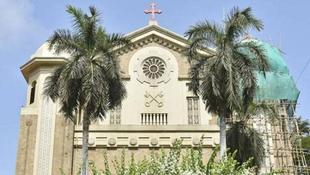St Peter's Church in Bandra.(HT Photo)