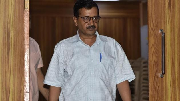 """Delhi CM Arvind Kejriwal had earlier warned authorities of """"disciplinary action"""" over the deletion of names.(Sonu Mehta/HT Photo)"""
