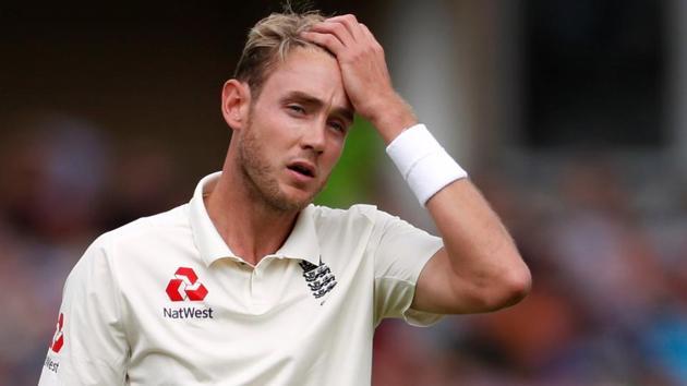 Cricket - England v India - Third Test - Trent Bridge, Nottingham, Britain - August 19, 2018 England's Stuart Broad(REUTERS)