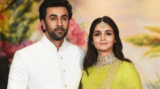 Ranbir Kapoor said marriage with Alia Bhatt will happen in its due course and is not on his mind yet.(AFP)