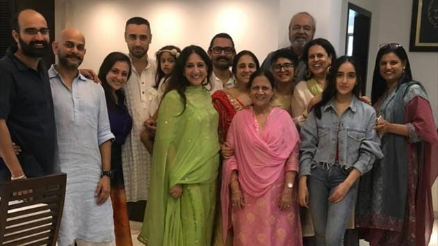 Aamir Khan had a fam-jam this Eid. See pics with nephew Imran Khan, others  | Bollywood - Hindustan Times