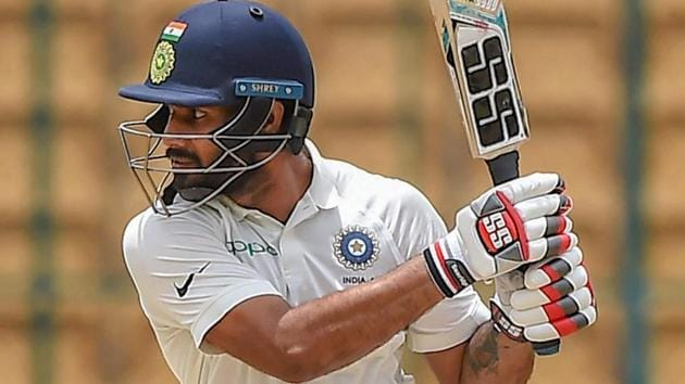 Hanuma Vihari was added to the Indian cricket team squad for the last two Test matches against England.(PTI)