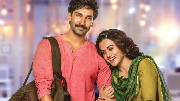 Neevevaro movie review: Aadhi and Taapsee Pannu film is a suspense thriller.