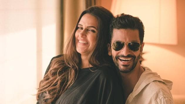 Neha Dhupia announced her pregnancy through pictures on Twitter.