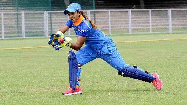 Chandigarh-based wicket-keeper-cum-batter Taniya Bhatia.(Keshav Singh/HT)