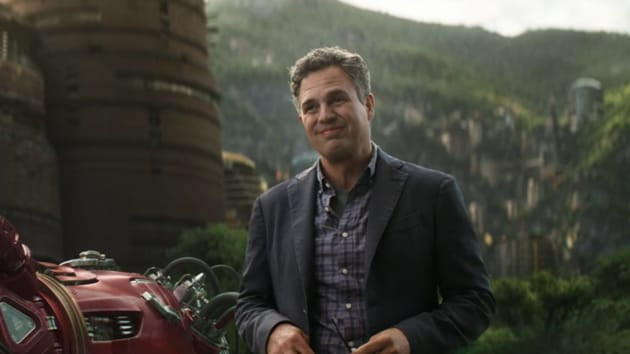 Mark Ruffalo as Bruce Banner in Avengers Infinity War. Looks like Shuri is Hulk's last hope.