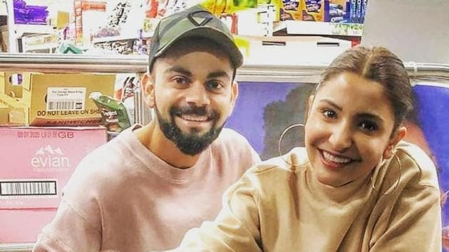 Even Virat Kohli and Anushka Sharma can turn into the biggest fanboy and fangirl when they see cute animals.(Instagram)