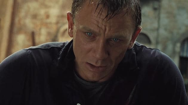Daniel Craig as James Bond in a still from Casino Royale.