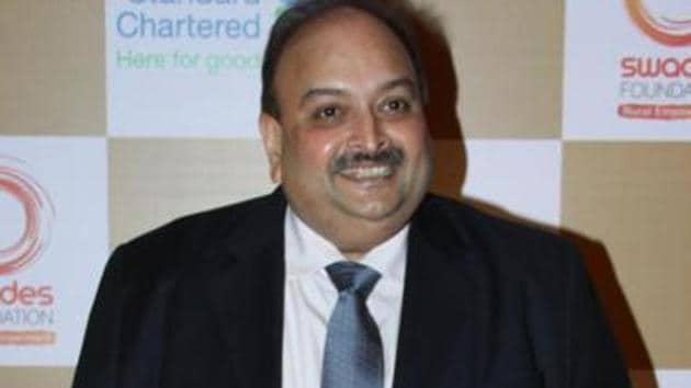 Mehul Choksi has appealed to the Interpol to not issue an RCN against him, the CBI said.(Prodip Guha/HT File Photo)
