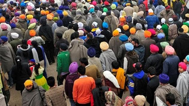 The acquittal of Sikh activists Tejinderpal Singh (66) and Satnam Singh (67), both members of the radical outfit Dal Khalsa, buoyed many members of the Sikh community in Punjab, who said the men had already been punished in Pakistan.(HT File Photo)