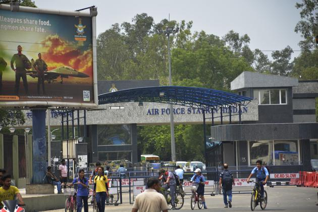 Under the regional flight connectivity scheme (RCS), the runway of the Hindon airbase will be used for regional flights.(Sakib Ali /Hindustan Times)
