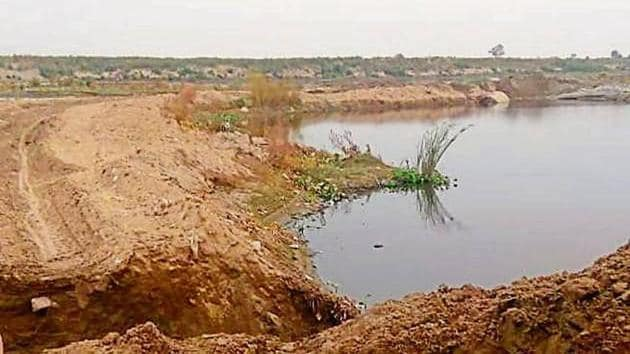 Sanjay Momnathal had tried to change the natural course of River Yamuna with illegal miniature dams.