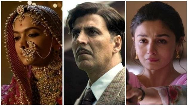 Box office report card: Deepika Padukone's Padmaavat, Akshay Kumar's Gold and Alia Bhatt's Raazi were the successful films this year.