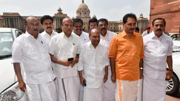 Eleven MPs belonging to the Congress, the CPI-M, the RSP, the Kerala Congress(Mani) and one independent were part of the delegation which apprised the home minister on the prevailing situation in the southern state.(PTI)
