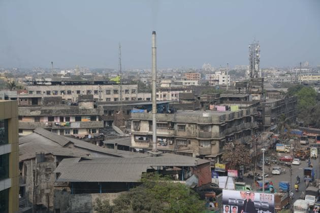 Bhiwandi is known for its powerlooms and warehouses.(Praful Gangurde)