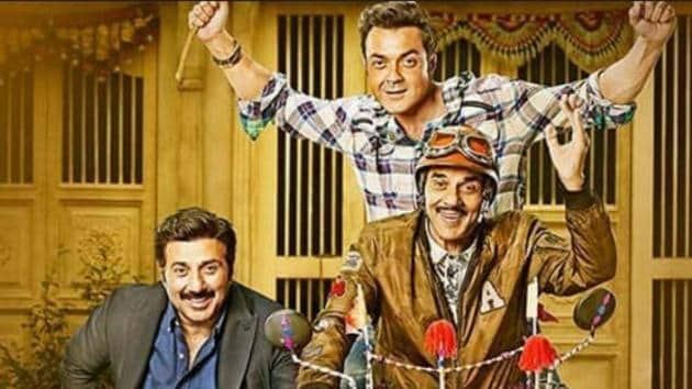 Yamla Pagla Deewana Phir Se movie review: Dharmendra, Sunny Deol and Bobby Deol look like caricatures of themselves in this comedy.