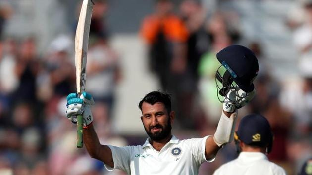 Cheteshwar Pujara scored his 15th Test century at Southampton.(REUTERS)