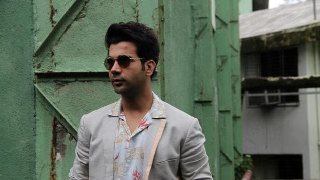 Actor Rajkummar Rao at the promotion of his upcoming film Stree in Mumbai on Aug 20, 2018.(IANS)