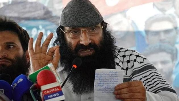 Hizbul Mujahideen chief Syed Salahuddin was declared a Specially Designated Global Terrorist by the US Department of State.(Reuters File Photo)