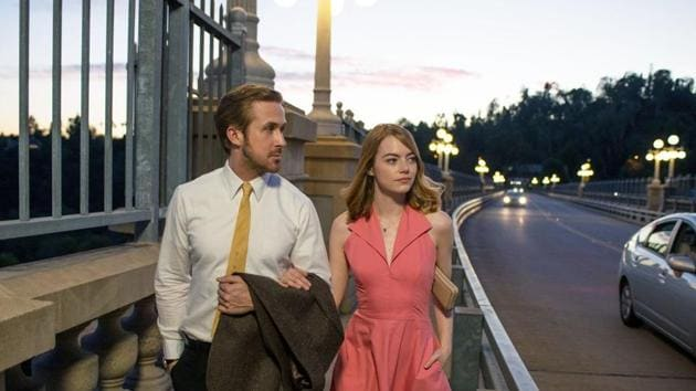 Ryan Gosling and Emma Stone in their hit movie, La La Land.