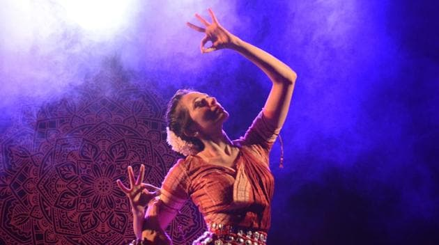Danseuse and performing artist Zia Nath