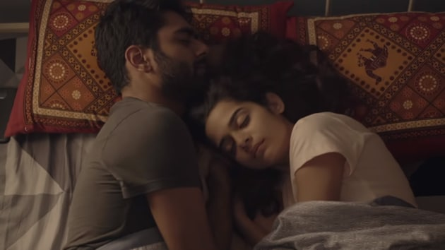 Dhruv Sehgal and Mithila Palkar play a young, unmarried couple in Little Things.