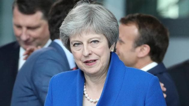 There have been growingdemands from members of Theresa May's cabinet and othersto exclude international students from migration numbers, since the overwhelming majority leave after their studies.(Reuters File Photo)