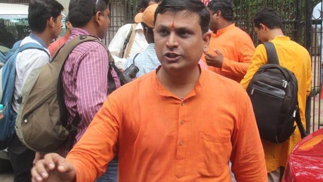 Sanatan Sanstha national spokesperson Chetan Rajhans said certain Congress leaders are pushing for a ban on the organisation.(HT File Photo)