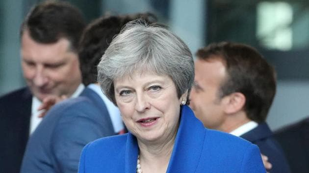 """Prime Minister Theresa May was under pressure during the April Commonwealth Heads of Government Meeting to tender an apology on Britain's behalf for introducing the homophobic laws in former colonies, but limited herself to expressing """"deep regret"""".(Reuters File Photo)"""
