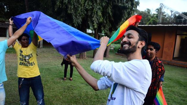 The youngest respondents (15 to 17 years of age) were more approving of same-sex relationships than people in an older demographic; 31% of people between 15 and 17 said they were alright with two men in love, while only 21% of people between 30 and 34 years of age said they approved of the same.(Shankar Narayan/HT Photo)