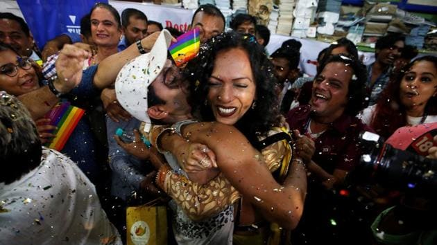 The UN said it hoped the Supreme Court judgment will boost efforts to eliminate stigma and discrimination against LGBTI persons in all areas of social, economic, cultural and political activity.(Reuters)