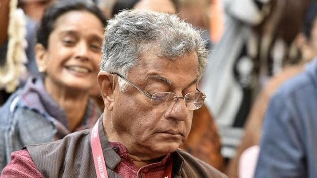 Actor, film director, writer and playwright Girish Karnad during the Inauguration of Jaipur literary festival 2016, in Jaipur, India.(HT File Photo)
