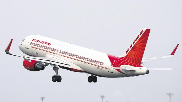 An Air India aircraft takes off from the Sardar Vallabhbhai Patel International Airport in Ahmedabad.(REUTERS File)
