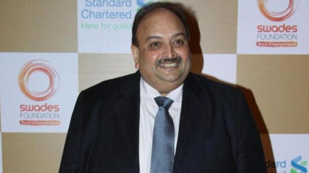 Mehul Choksi, one of the accused in the PNB fraud, is presently living in Antigua.(HT File Photo)