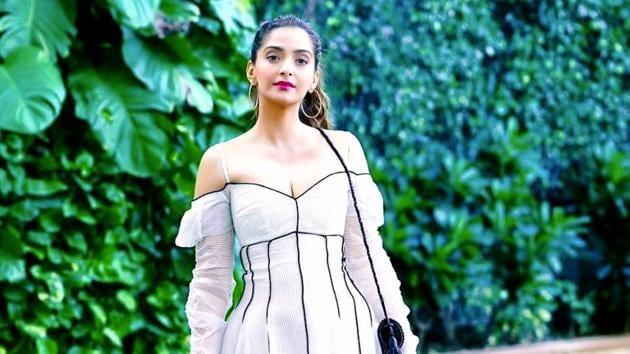 Sonam Kapoor Ahuja's white dress exudes elegance and utter sophistication, as well as sex appeal. (Insatgram)